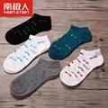5 peças/lotes mulheres meias de algodão casuais summer seção fina invisível meia boca rasa chinelos meias femininas