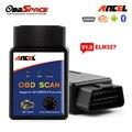 ELM327 Bluetooth OBD OBD2 ELM 327 V1.5 Scanner ANCEL Real Adaptador OBDII Código Auto Scanner v 1.5 Para Android Torque leitor