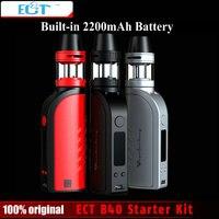Original ECT B40 Electronic Cigarette Starter Kit 2200mAh Battery 2 0ml Atomizer 0 3ohm No Leaking