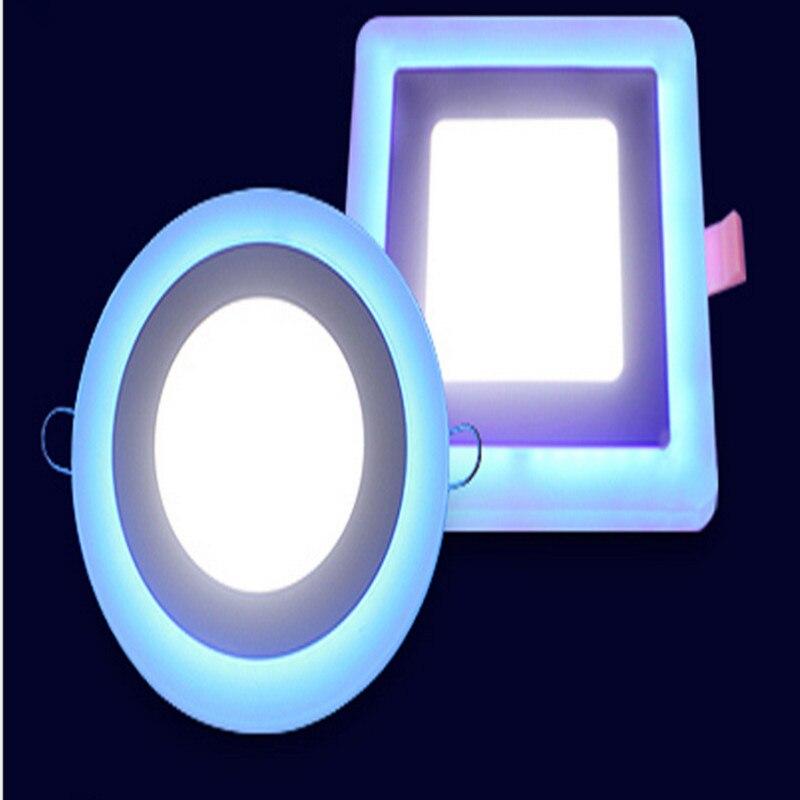 Lámpara empotrada en el techo del panel de luz LED Painel 6W 12W 16W - Iluminación LED