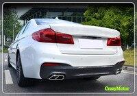 BMW 5 Series G30 6 Series GT G32 2017 2018 Car Styling Exterior Exhaust Muffler