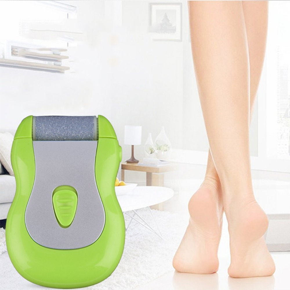 Foot care tool electric Pedicure Foot Mini Battery Operated Pedicure Foot Heel Callus Buffer Dry Skin Removal File Drop Shipping rechargeable electric foot care tool pedicure electric foot file pedicure callus removal heel machine feet hard skin removal