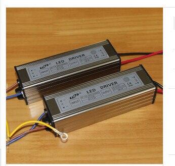 2ps hot prodej 50w led řidič 10series 5paralelní napájení, AC110-265v výstup 20-39v 1500ma PFC> 0,96 IP66 vodotěsný transformátor