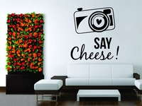 Wall Mural Vinyl Decal Decor Sticker Photography Photo Camera Love Cheese Say