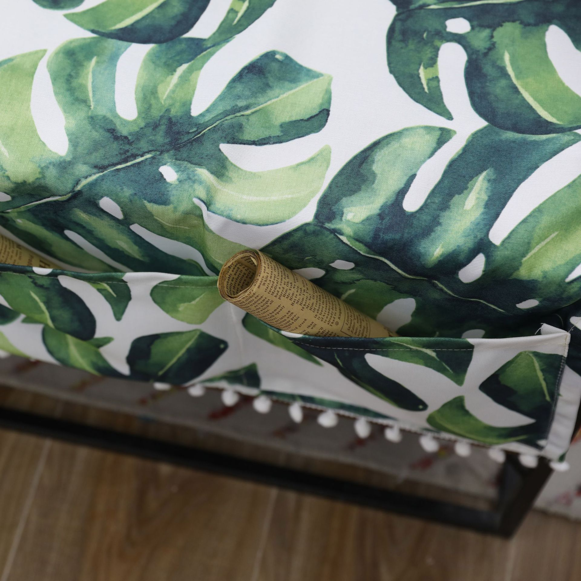 Tortoise back bamboo Table Cloth with Three Pocket Ear of Wheat Nappe TV Bench Mantel Rectangular Tea Table Cover Toalha De Mesa