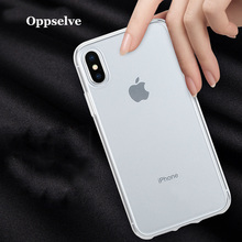 Oppselve Luxury Case For iPhone X XS 8 7 6 6S Plus Capinhas Ultra Slim Soft TPU Silicone Cover Coque Fundas