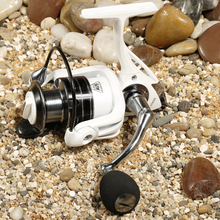 Fishing Reels Spinning Reel Pearl White TR3000 11BB 5 0 1 aluminum material Rocker arm Rear
