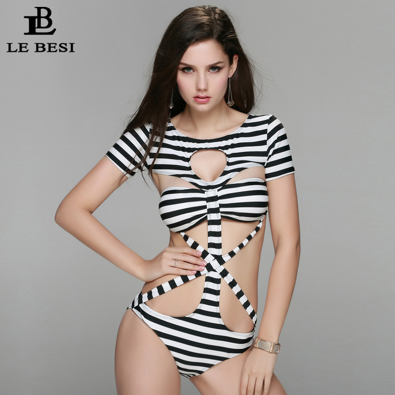 2017 New One Piece Swimsuit for Women Plus Size M-XXL Push Up Sexy - Sportswear and Accessories - Photo 4