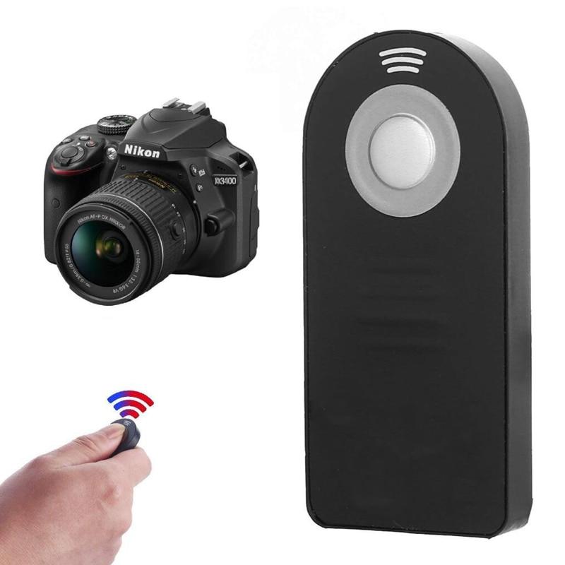 ML-L3 Wireless Remote Control Shutter Release For Nikon D3200/D3300/D3400/D5100/D5300/D5500/D600/D610/D7000/D7100/D750/D800/D90