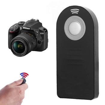 ML-L3 bezprzewodowy zdalnie sterowana okiennica Release dla Nikon D3200 D3300 D3400 D5100 D5300 D5500 D600 D610 D7000 D7100 D750 D800 D90 tanie i dobre opinie Setoobay wireless Infrared Controller for Nikon Cameras