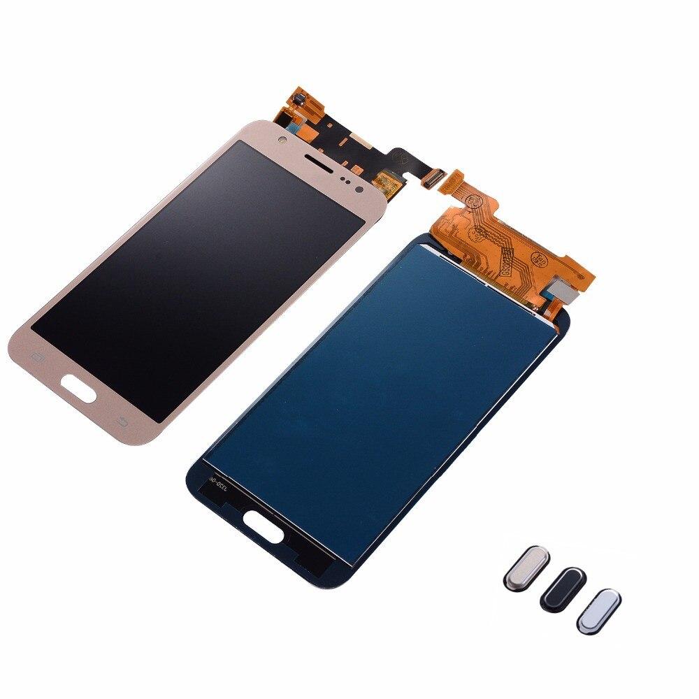 For Samsung Galaxy J5 2015 J500F J500FN J500M J500 LCD Display Touch Screen Digitizer Assembly+Home Return Button+AdhesiveFor Samsung Galaxy J5 2015 J500F J500FN J500M J500 LCD Display Touch Screen Digitizer Assembly+Home Return Button+Adhesive