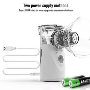 Image 4 - Yonker tıbbi yeni nebulizatör el astım Inhaler Atomizer çocuklar için sağlık usb mini taşınabilir nebulizatör
