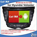 C100 Android 4.4.4  Car DVD GPS Radio Audio Navigation Player for Hyundai veloster WIFI Support 3G DVR OBD