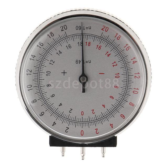 Металлический Профессиональный офтальмологический объектив с часами, базовая кривая оптическая линза, измерительный датчик + чехол в коробке для магазинов очков