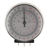 Metal Professional Ophthalmic Lens Clock Base Curve Optician Lens Curvature Measure Gauge + Box Case for Eyeglasses Stores