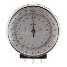 Metall Professionelle Ophthalmic Objektiv Uhr Basis Kurve Optiker Objektiv Krümmung Messen Manometer + Box Fall für Brillen Speichert