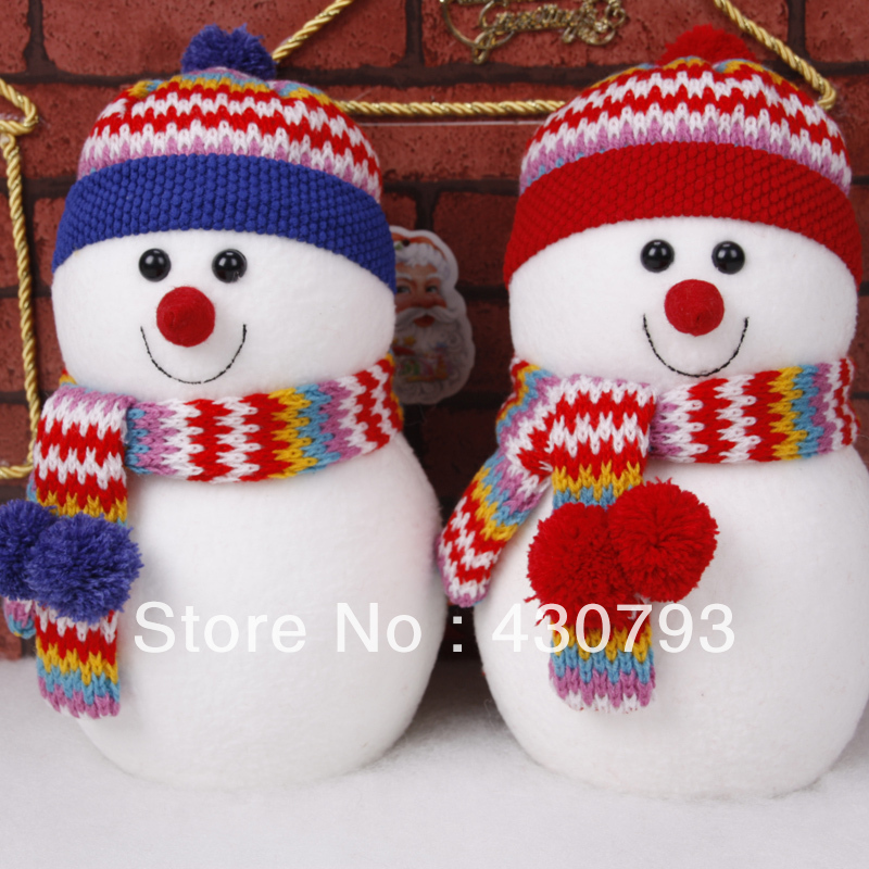 Free Shipping Wholesale Christmas Decorations Dolls