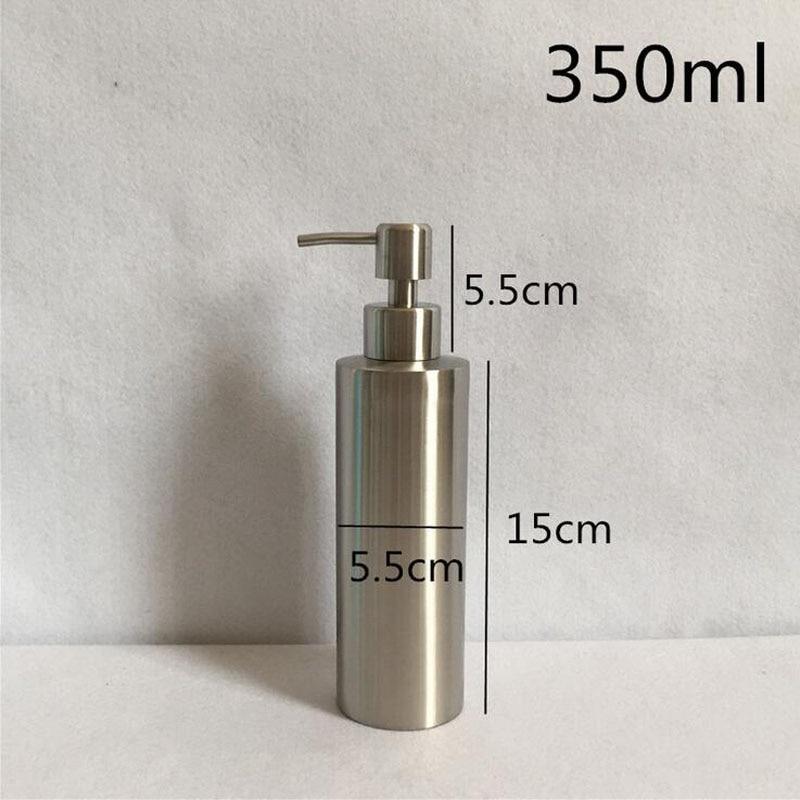 Stainless Steel 250ml 350ml 550ml Liquid Soap Dispenser Kitchen Bathroom  Lotion Pump Bottle Multifunction Sink Detergent Product In Liquid Soap  Dispensers ...
