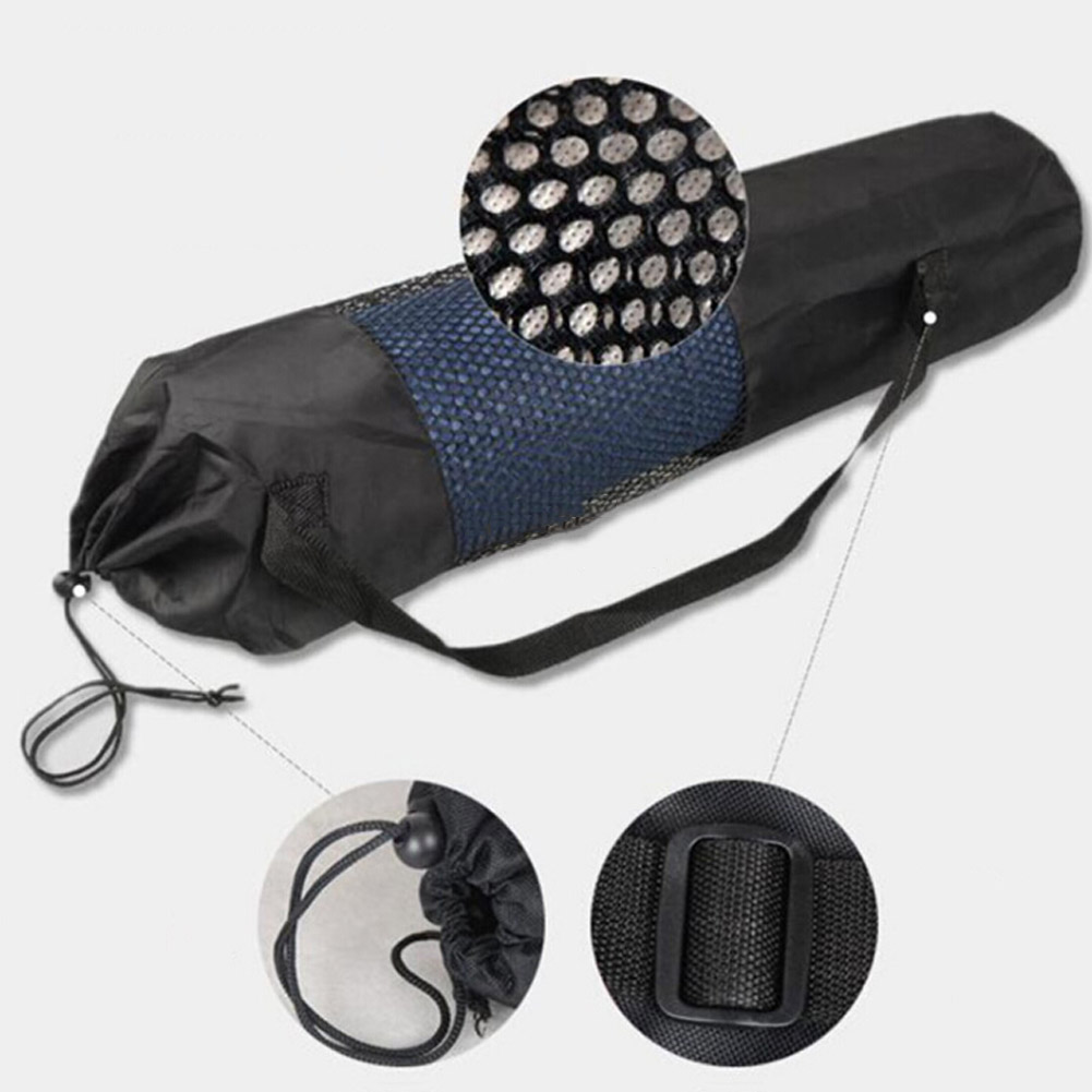 Спортивные Упражнения Йога сумка Холст практические Йога Пилатес Коврики ремень для переноски drawstring сумка спортивная сумка Фитнес рюкзак для Йога Коврики