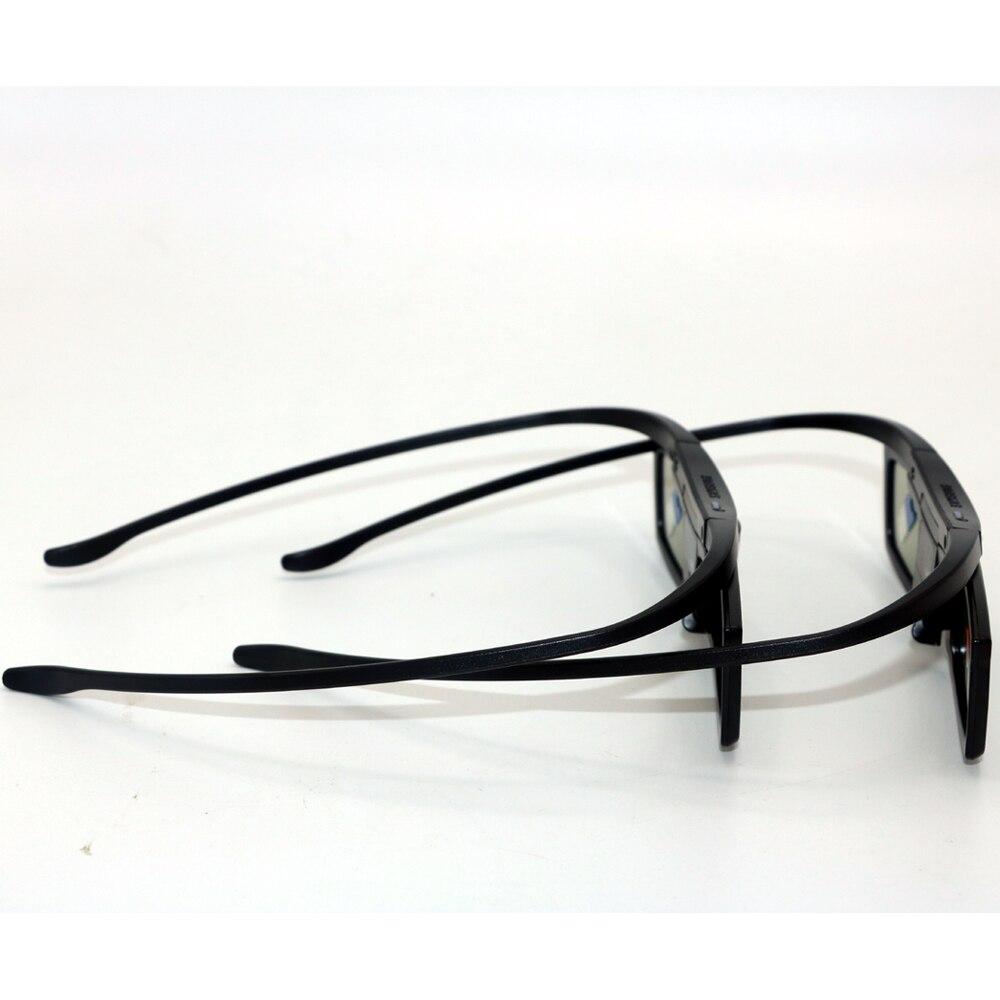 2pcs lot Active Shutter Glasses For SAMSUNG RF712 3D TV H6400 JS8000 JS8500 Replacement SSG 5100GB