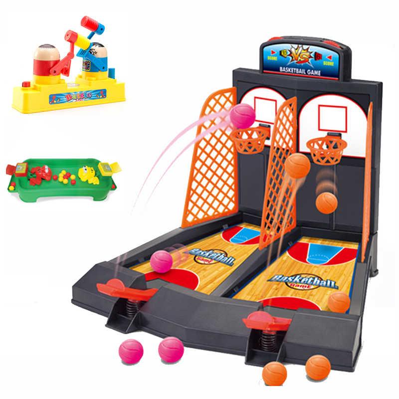 Мини ручной палец Баскетбол родитель-ребенок стрельба Hoops игрушка семья веселые настольные игры Детская игрушка-паззл для семьи Вечерние