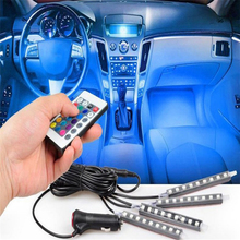 Car Styling  LED Strip Light  decorative for Honda CRV Accord Odeysey Crosstour FIT Jazz City Civic JADE accessories