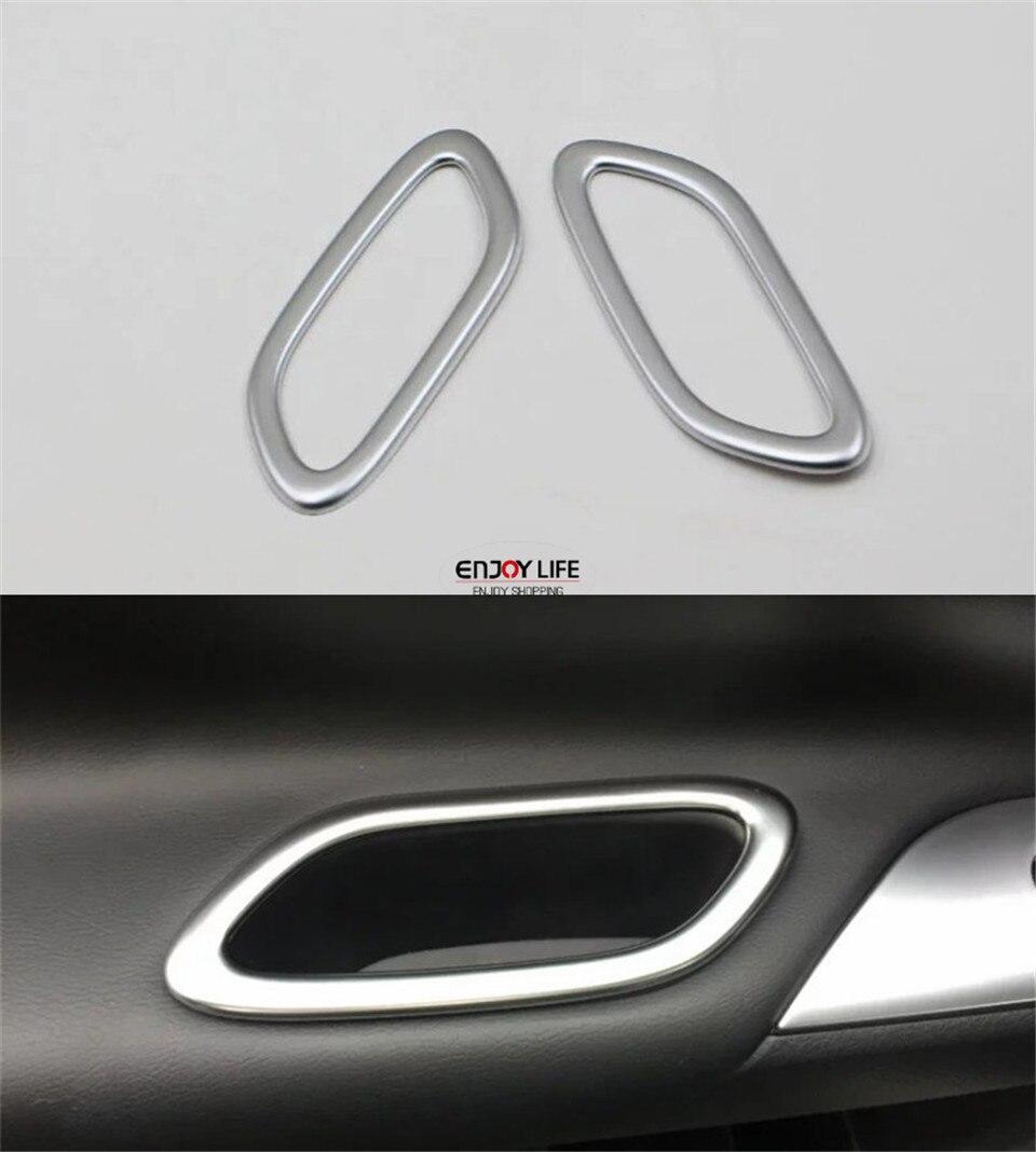2018 Nissan Altima Interior: 2pcs Rear Door Armrest Box Cover Trim For Nissan Altima