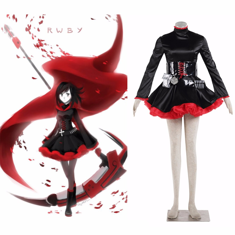 Athemis  RWBY Ruby Rose one generation - Little Red Riding Hood cloak