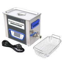 2018 new design 4.8L/ 40Khz Adjustable Power Lab Ultrasound Cleaner with design sweep and degas & heating function