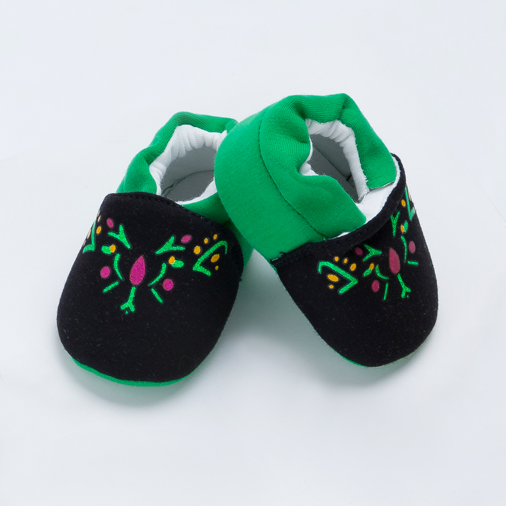 YK&Loving Warm Winter Cotton Toddler Shoes Green Boutique Soft Vamp Winter Halloween Cosplay Shoes Cute Newborn Girls Baby Gift