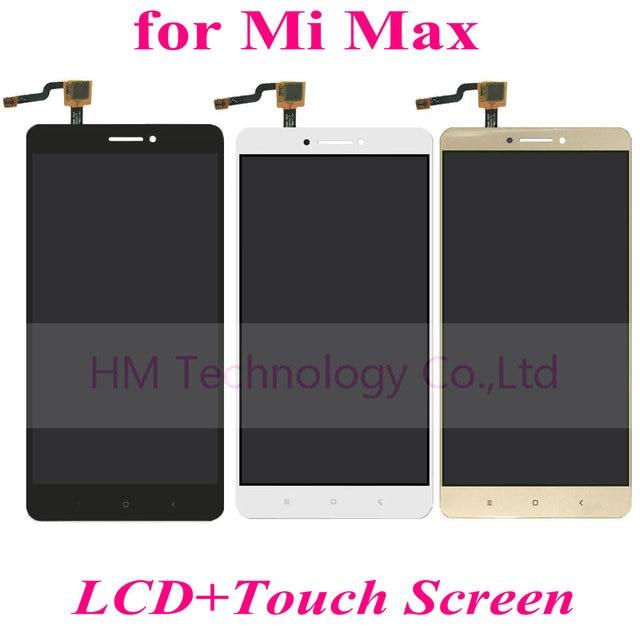 """Ouro Negro branco LCD + TP para Xiaomi Mi Max 6.44 """"Display LCD + Montagem Digitador Da Tela de Toque Móvel Parte telefone Frete Grátis + Ferramenta"""