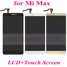 White Black Gold LCD+TP for Xiaomi Mi Max 6.44″ LCD Display+Touch Screen Digitizer Assembly Mobile Phone Part Free Shipping+Tool