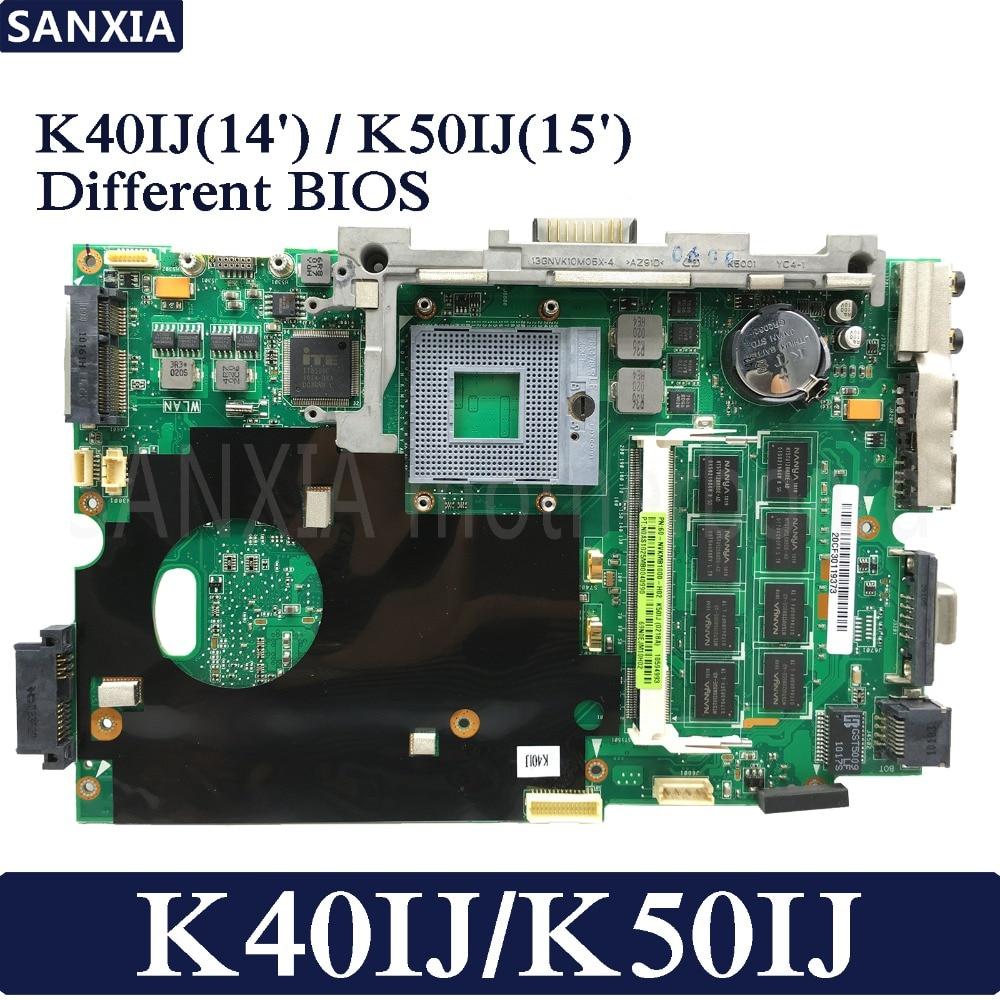 KEFU Laptop motherboard for ASUS K40IJ K50IJ K60IJ X5DIJ P81IJ P50IJ K40IN K50IN K40AB K50AB 100