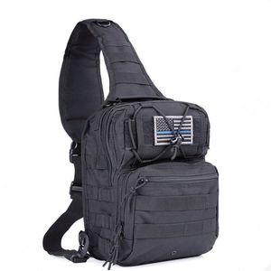 Tactical chest bag men's bag a