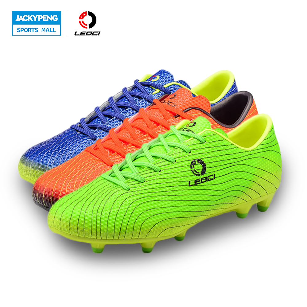 Leoci Mens Soccer Shoes Cleats A Kids Football Boots Outdoor Training Soccer Shoes Brand Series Soccer Cleats High Quality набор инструмента berger bg043 14