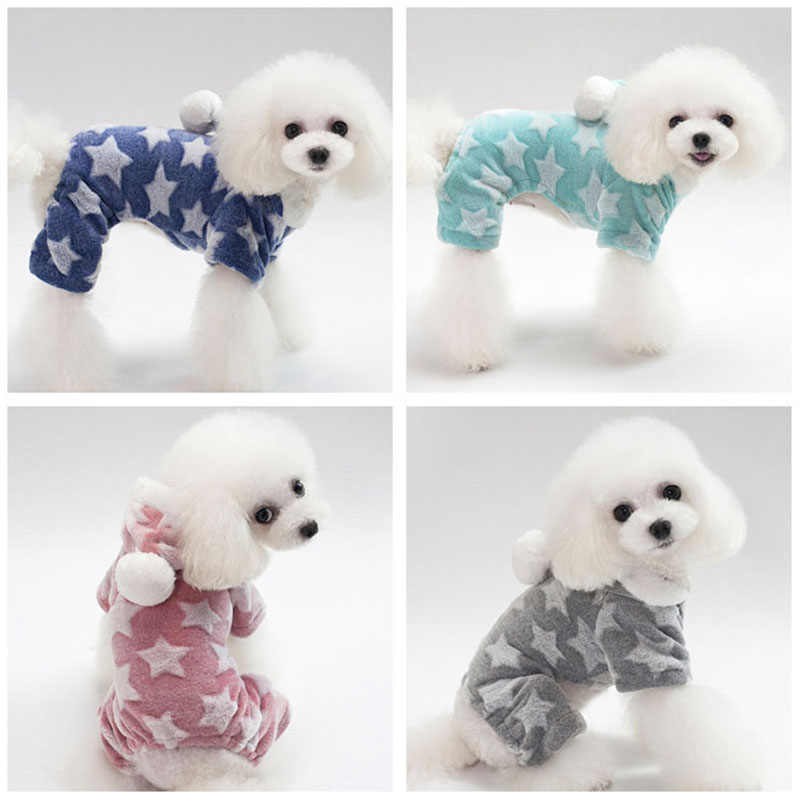 Dog Pajamas Pjs Soft and Comfortable Pet Clothes for Small Dogs Onesie  Jumpsuit for Chihuahua Pomeranian 41ac0e023