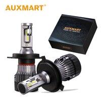 Auxmart H4 H7 LED Bulb H11 9006 HB4 9005 HB3 LED Bulbs Car Headlight Kit 60W