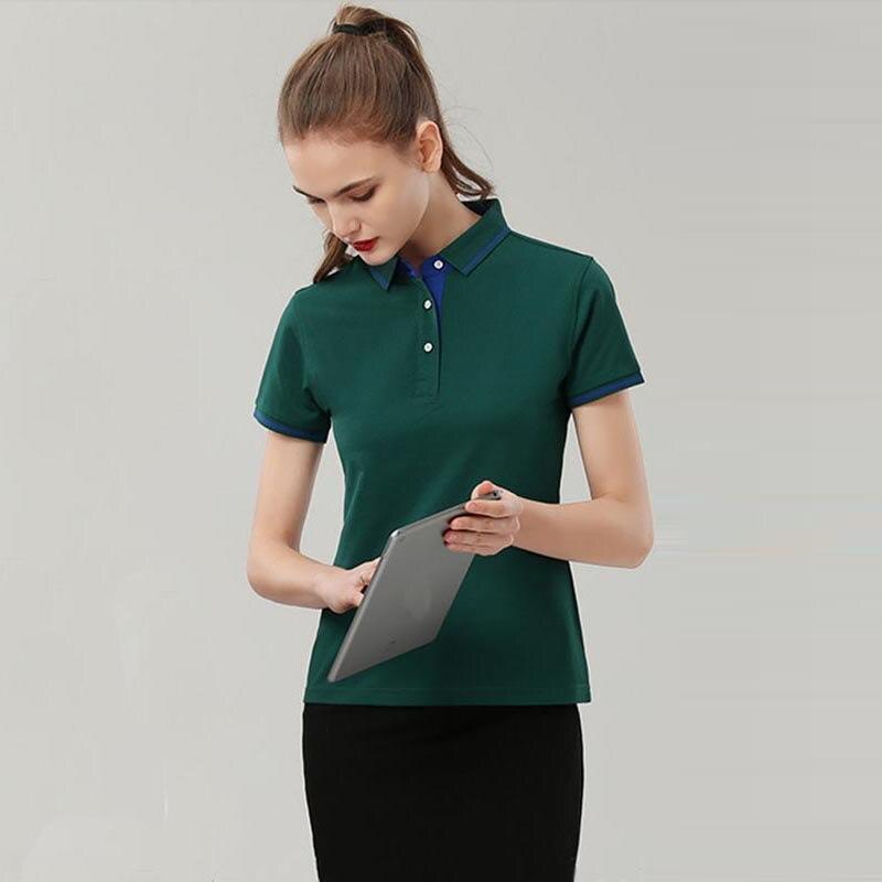10 Farben Candy Einfarbig Koreanische Polo-hemd Für Frauen Dünne Harajuku Tees Top Weibliche Lose Weiß Polo-shirt Sommer Baumwolle Weitere Rabatte üBerraschungen