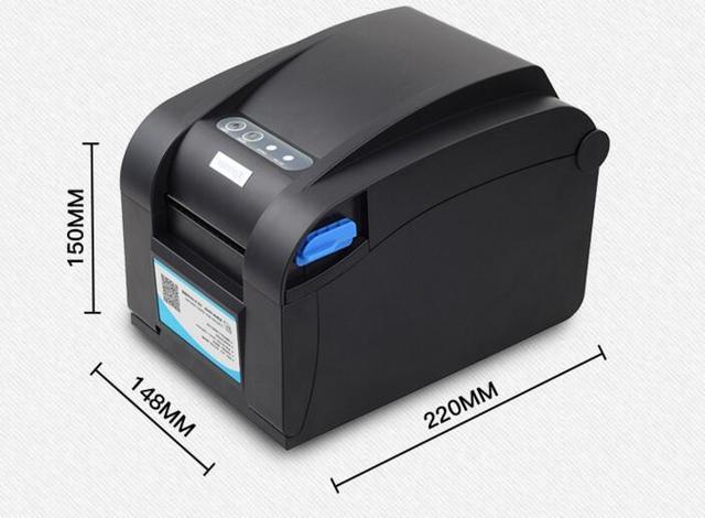 XP-358BM Direct Thermal Line USB+RS232+LAN interface 3 port Barcode Label Printer thermal barcode printer