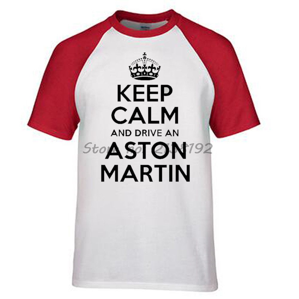 men t shirt cotton aston martin classic t shirt men brand fashion
