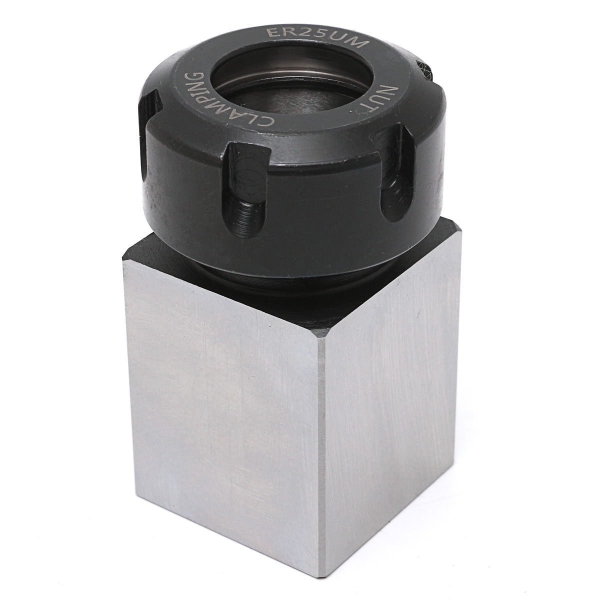 1pc ER-25 Square Collet Holder Hard Steel 3900-5123 Chuck Block 35x65mm For Lathe Engraving Machine 1pc square er40 collet chuck block holder 3900 5125 for cnc lathe engraving machine cross hole drilling