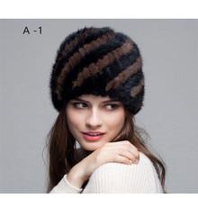 Новая модная норка, плюшевая элегантная женская теплая шапка, зимняя теплая шапка
