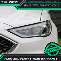 Car Styling Head Lamp For Ford Mondeo 2017 Headlights Mondeo LED Headlight DRL H7 D2H Hid