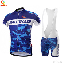 Malciklo Camouflage Cycling Jersey 2019 Pro Team Mens Summer Set Roupa Ciclismo Quick Dry Bicycle MTB Bike Clothing Kit