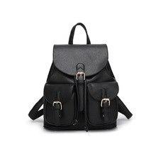 Новинка 2017 рюкзак леди корейской версии школа ветер ПУ личи шаблон двойные карманы девушка путешествия небольшой рюкзак