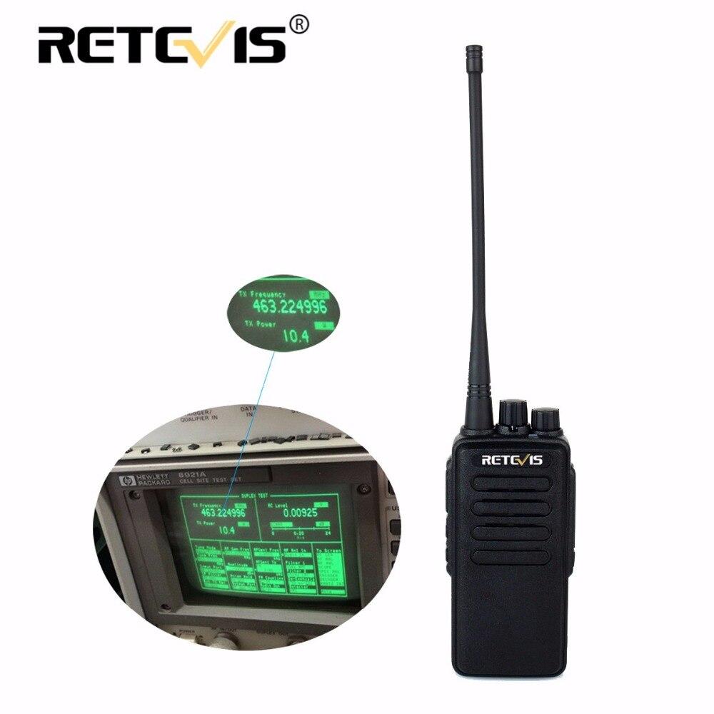 10 Вт Профессиональный рация Retevis RT1 УКВ (или UHF) 16CH 3000 мАч Батарея сканирование голоса скремблер 1750 Гц Long Range двусторонней радиосвязи