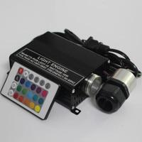 16W RGB LED Fiber Optic Star Ceiling Lights Engine Driver 24Key IR Remote