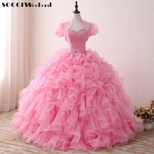 SOCCI WEEKEND Quinceanera Dress 2019 Prom Dresses Ball Gown