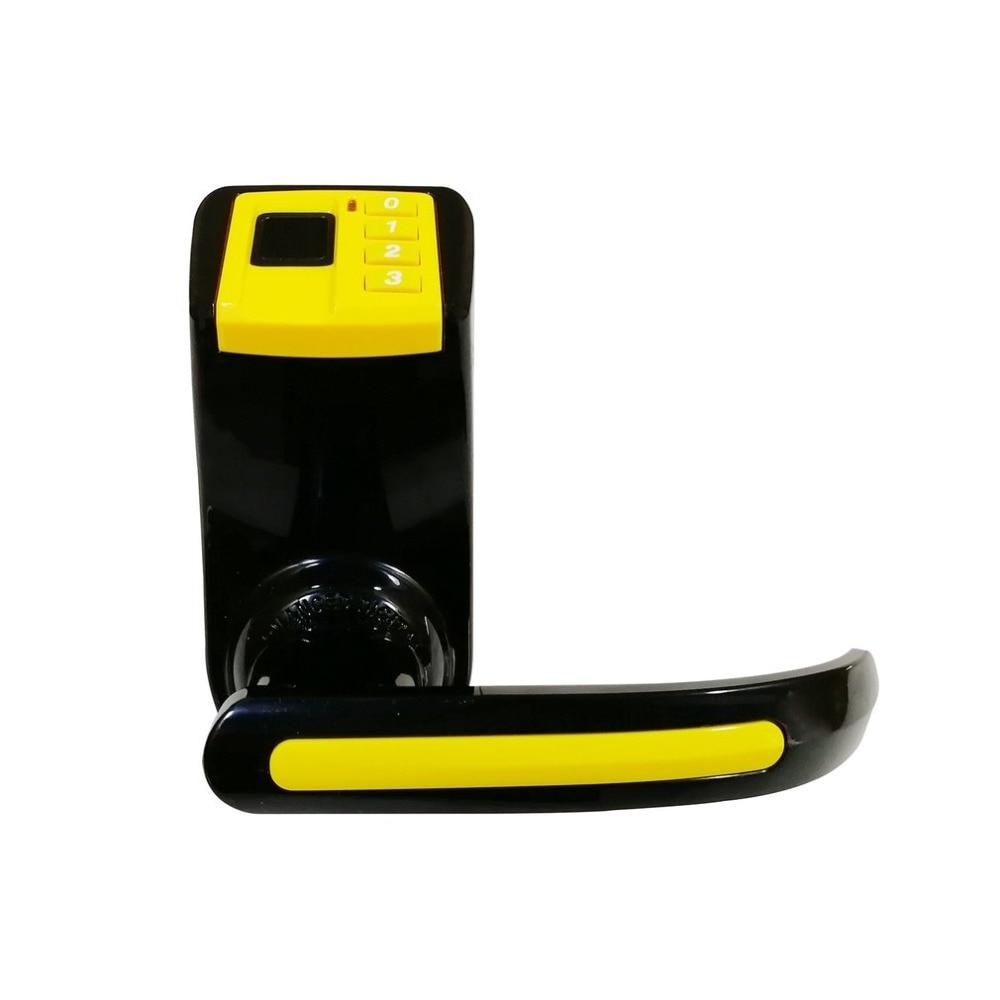 LS9 Biometric Door Access Control Lock Fingerprint Password Lock Digital Code Keyless Smart Entry Deadbolt Lock все цены