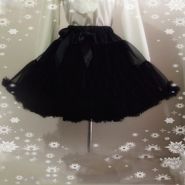 E JUE SHUNG Ball Gown Underskirt Swing Short Dress Petticoat Lolita Cosplay Petticoat Ballet Tutu Skirt Rockabilly Crinoline 1